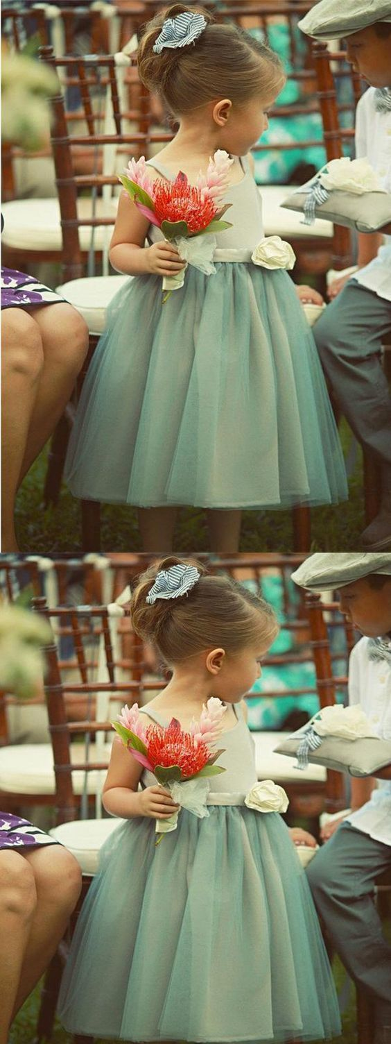 Blue hlater tulle flower girl dresses with by meetbeauty on zibbet blue hlater tulle flower girl dresses with handmade flowercheap toddler flower izmirmasajfo