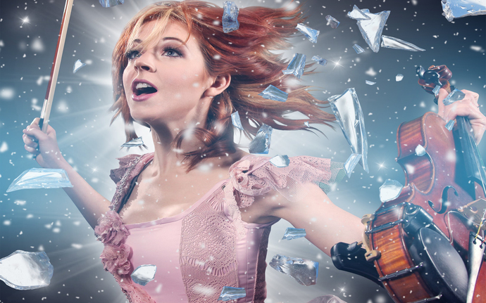 "Lindsey Stirling  Polyester Fabric Poster (13""x19"" or 18""x28"")"