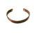 Vintage Hammered Copper Cuff Bracelet Adjusable Southwestern Design Hand Crafted