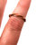 Vintage Twisted Flat Copper Ring Size 8 Two Pieces  Wire Hammered Highly
