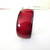 Vintage Wide Red Black Lacquer Wood Bangle Bracelet Cinnabar  Triangle  Asian