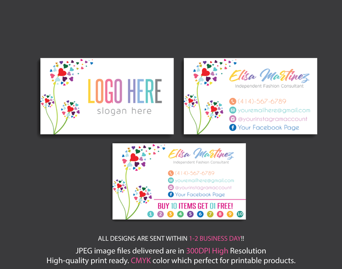 Personalized Lularoe Business Cards, Lularoe Business Cards, Lularoe Digital
