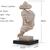 Man's face sculpture crippled creative artwork living room desktop figure bust