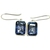 Sterling Silver Mystric quartz Faceted Gemstone Dangler Earring Jewelry.