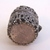 Vintage Antique Sterling Silver Filigree thimble Box 5.6g E1166