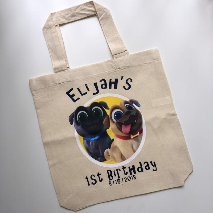 Puppy dog pals, puppy dog pals bag, kids party favors, kids party favors bags,