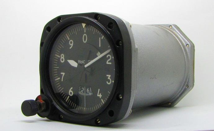 Vintage Soviet Aircraft Board Cockpit Zoom - Altimeter High Level Meter Gauge
