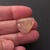 Rutilated Quartz Gold Golden Gemstone Cabochon Free Form 20x16mm FOR ONE