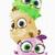 Machine embroidery design 'Babies Birds', Sfumato, child, baby, fun, animals