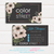Color Street Business Cards, Personalized Color Street Business Cards, Color