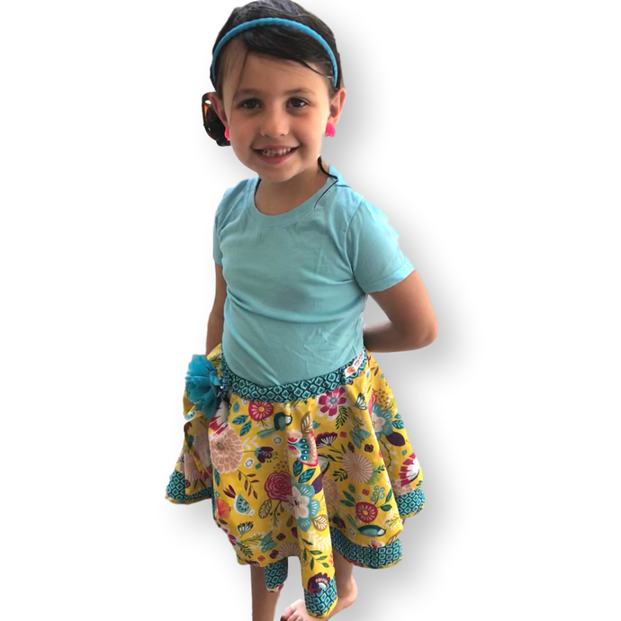 Pull-On Circle Skirt