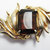 Vintage-Collectible-Jewelry-Gold-Rhinestone-Pin-Brooch-Costume-Topaz-Retro-Mid