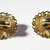 Vintage-Collectible-Jewelry-Gold-Rhinestone-Earrings-Costume-Cabochon-Pink-Iride