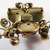 Vintage-Original by Robert-Jewelry-Gold-Rhinestone-Pin-Brooch-Costume
