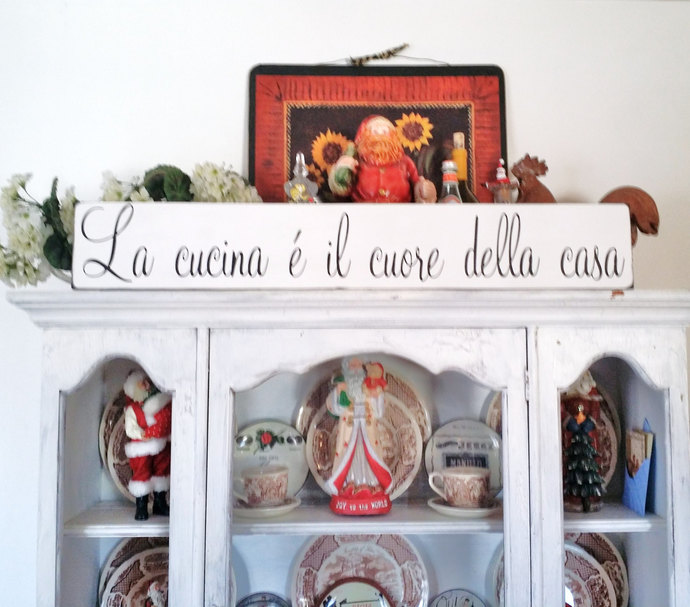This kitchen was made for dancing IN ITALIAN, kitchen art