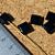 Black Agate Square Beads 10-1174