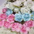 """Small Rose with Leaf - 1/2"""" White, Pink, Blue stl"""