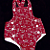 Red and White  Toddler Sunsuit