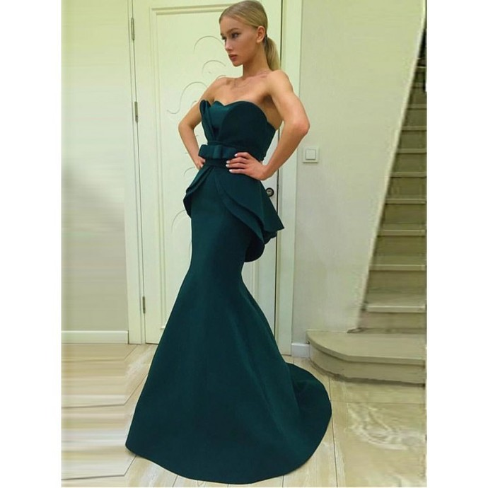 Mermaid Prom Dresses, Simple Prom Dresses