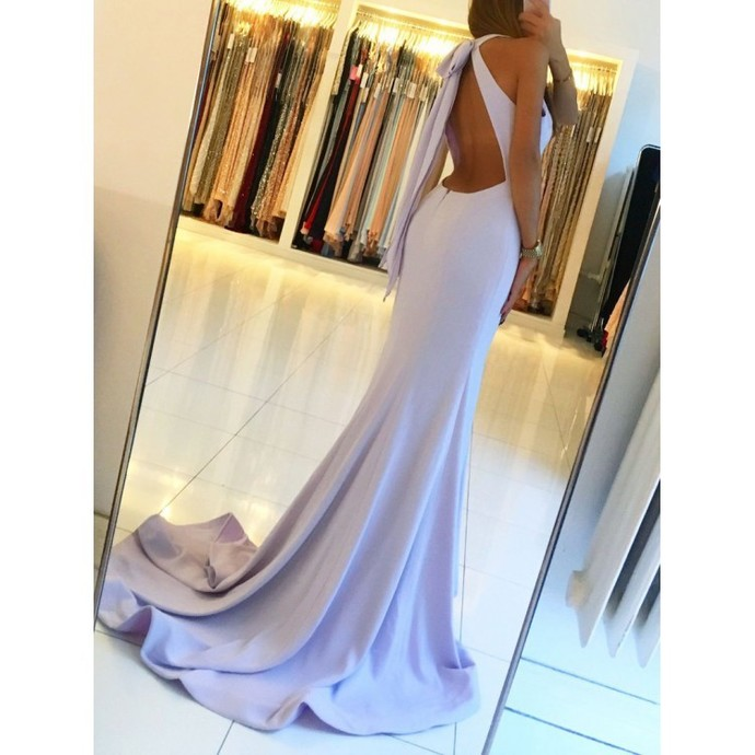 Prom Dresses Prom Dresses Long, Prom Dresses Backless, Simple Prom Dresses