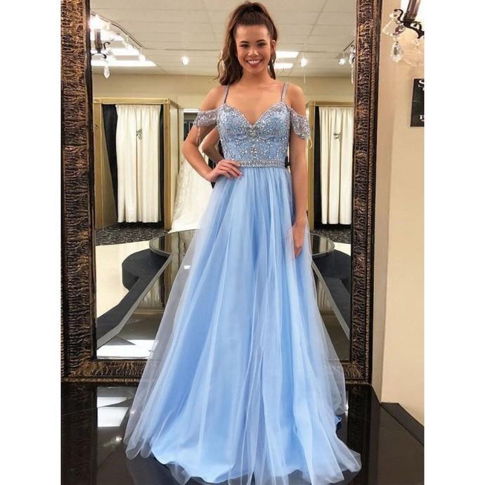 Silver Prom Dresses, Long Prom Dresses,Prom Dresses, Mermaid Prom Dresses