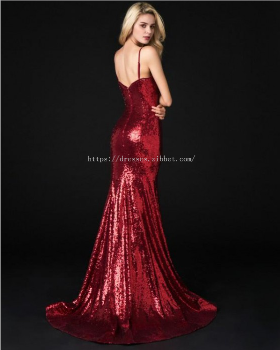 Prom Dresses Long, Sexy Prom Dresses, Prom Dresses Mermaid, Sequin Prom Dresses