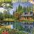 Crystal Lake Cottage Cross Stitch Pattern***LOOK***