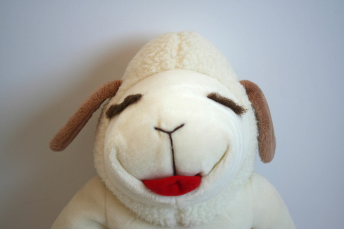 Vintage Lamb Chop 24 Plush Toy Stuffed Animal By Tpgcrafts On