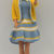 Vinage Barbie Dress in Blue and Gold  with Matching ShortJjacket