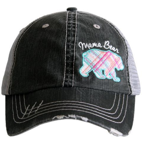 32879f6d1edfa Mama Bear Trucker Hat by Trendy Stitch on Zibbet