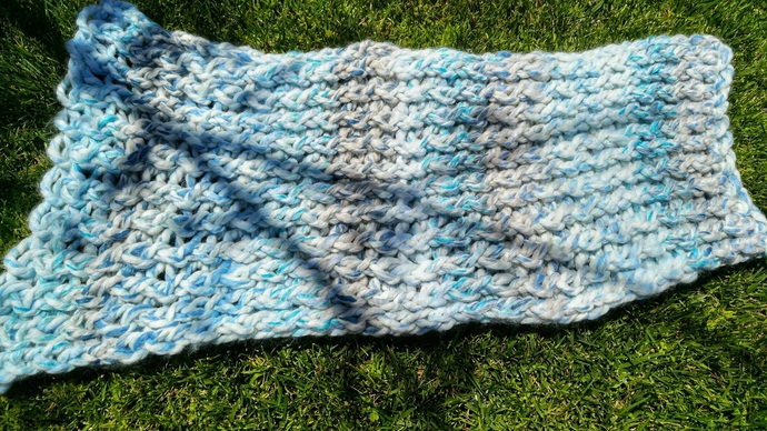 Frozen Loom Knitted Baby Blanket By Amberly Lane Designs On Zibbet