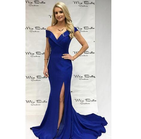 e2f8ce196d4 Royal Blue Mermaid Evening Dresses
