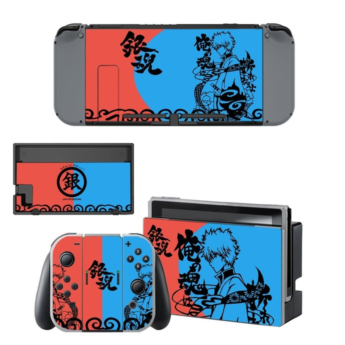 Anime Gintama Nintendo switch skin