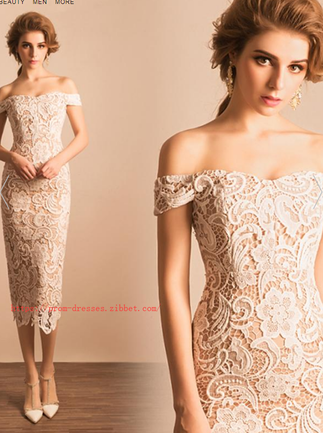 Chic Lace Homecoming Dress Off The Shoulder Homecoming Dress