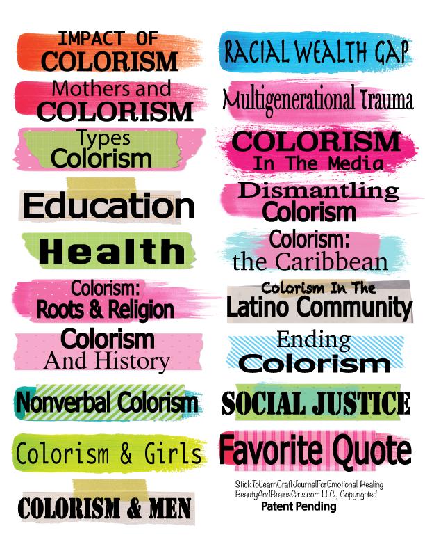 Self Healing Craft Journal- Self-Care Mental Health StickToLearn Craft Journal