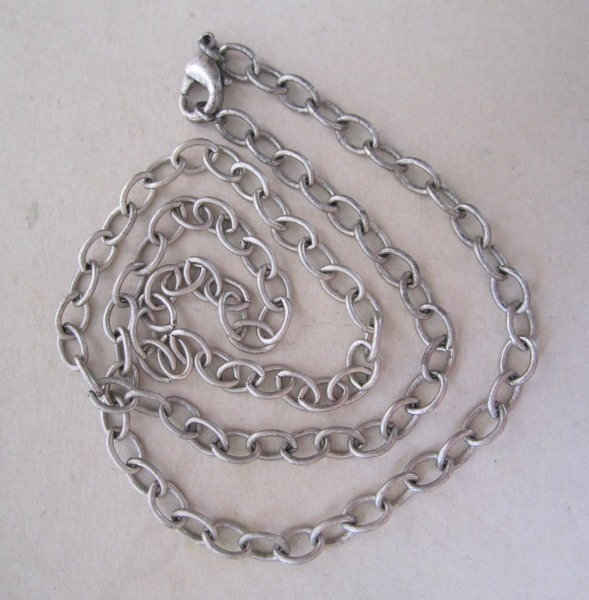 Antique Sterling Silver Chain