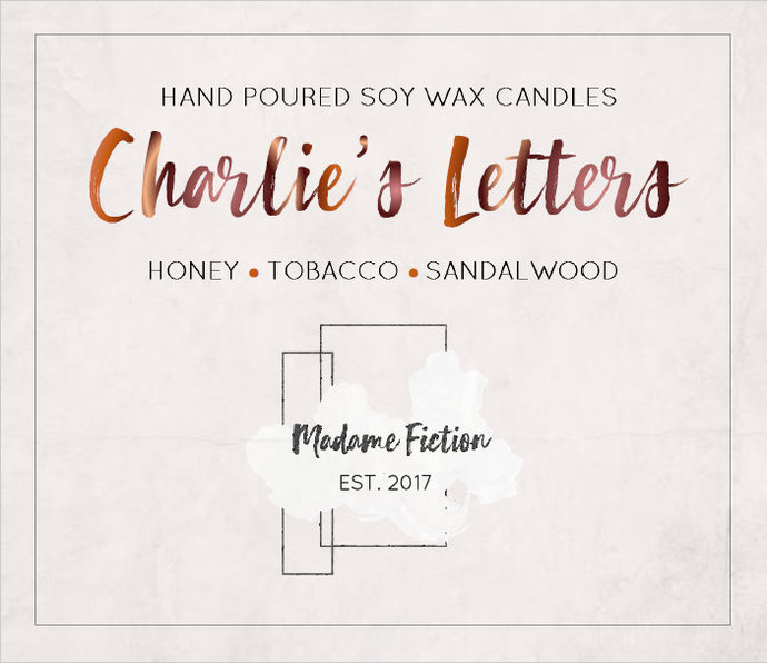 Charlie's Letters - 1.5oz Candle - The Perks of Being a Wallflower - A Court of
