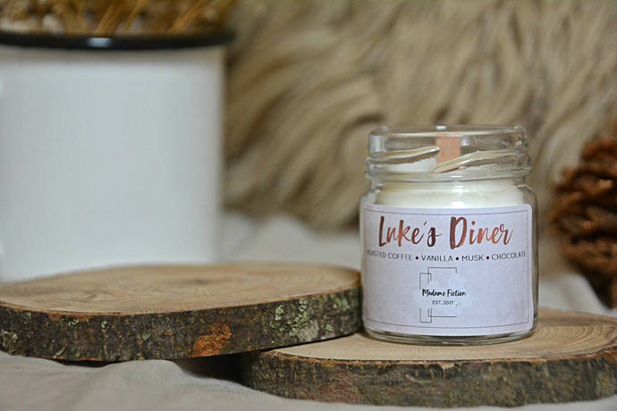 Luke's Diner - 1.5oz Candle - Gilmore Girls - Scented Soy Candle - Book Lover