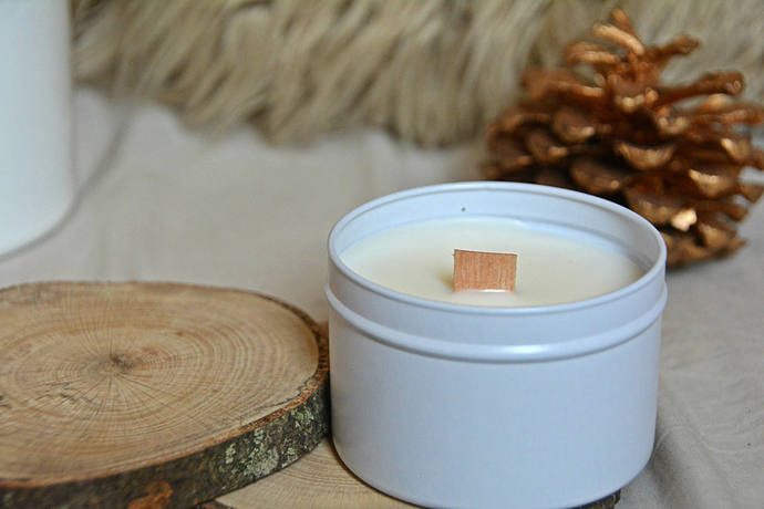 Milk & Honey - 4oz Candle - Rupi Kuar - Scented Soy Candle - Book Lover Gift