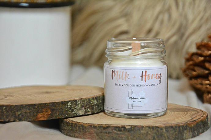 Milk & Honey - 1.5oz Candle - Rupi Kuar - Scented Soy Candle - Book Lover Gift