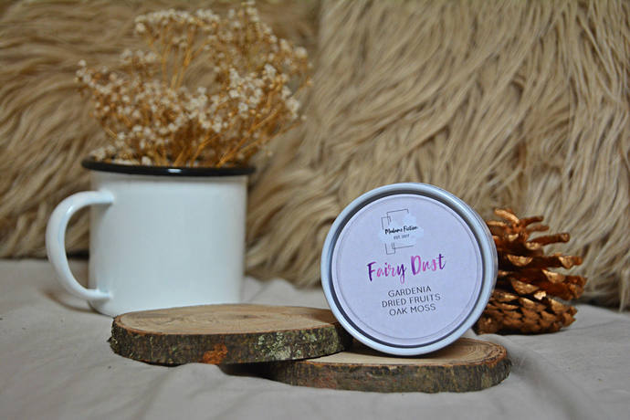 Fairy Dust - 4oz Candle - Disney Inspired - Scented Soy Candle - Book Lover Gift