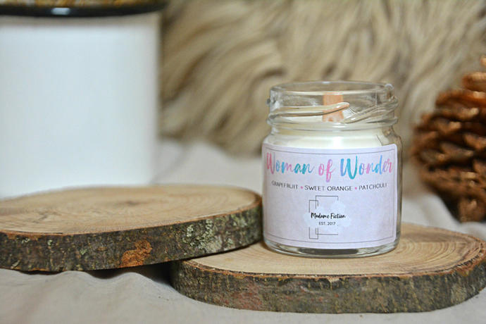 Woman of Wonder - 1.5oz Candle - Wonder Woman - Scented Soy Candle - Book Lover