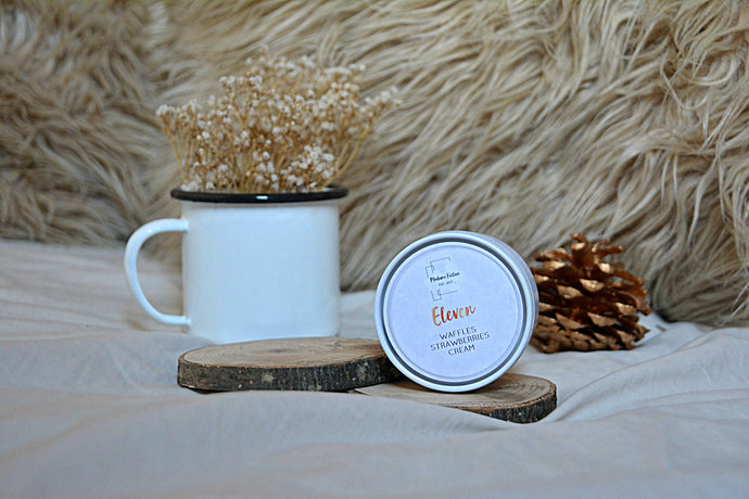 Eleven - 4oz Candle - Stranger Things Inspired - Scented Soy Candle - Book Lover