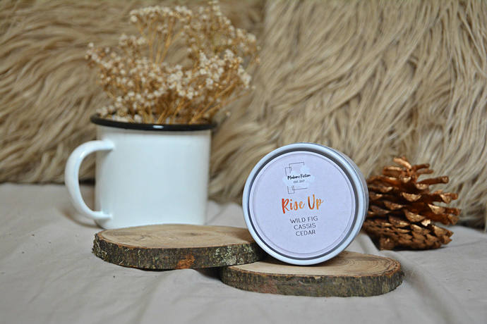 Rise Up - 4oz Candle - Hamilton - Scented Soy Candle - Book Lover Gift