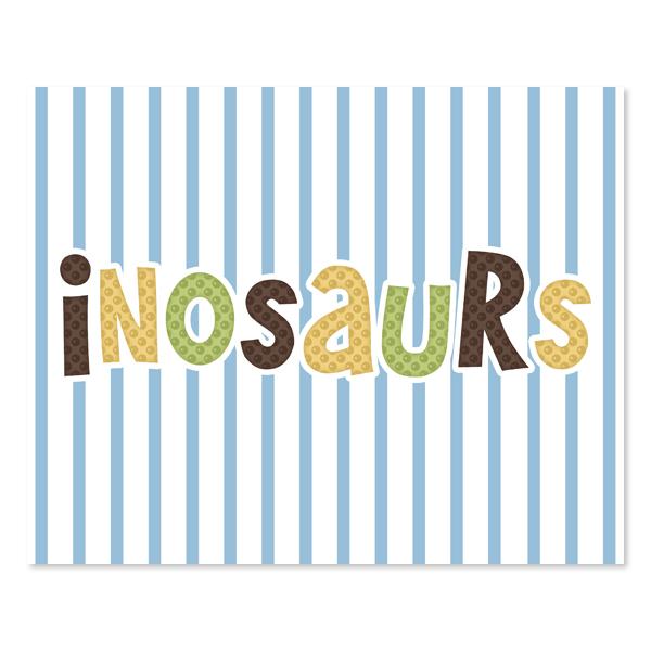 Dinosaurs Set 2 - Printable Wall Art