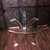 Mid Century Modern Charles Hollis Jones Acrylic/Lucite Dining Table with Beveled