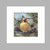 "Female Cardinal Oil Painting 5x5""  Bird Art, Bird Watcher Painting Ready for"