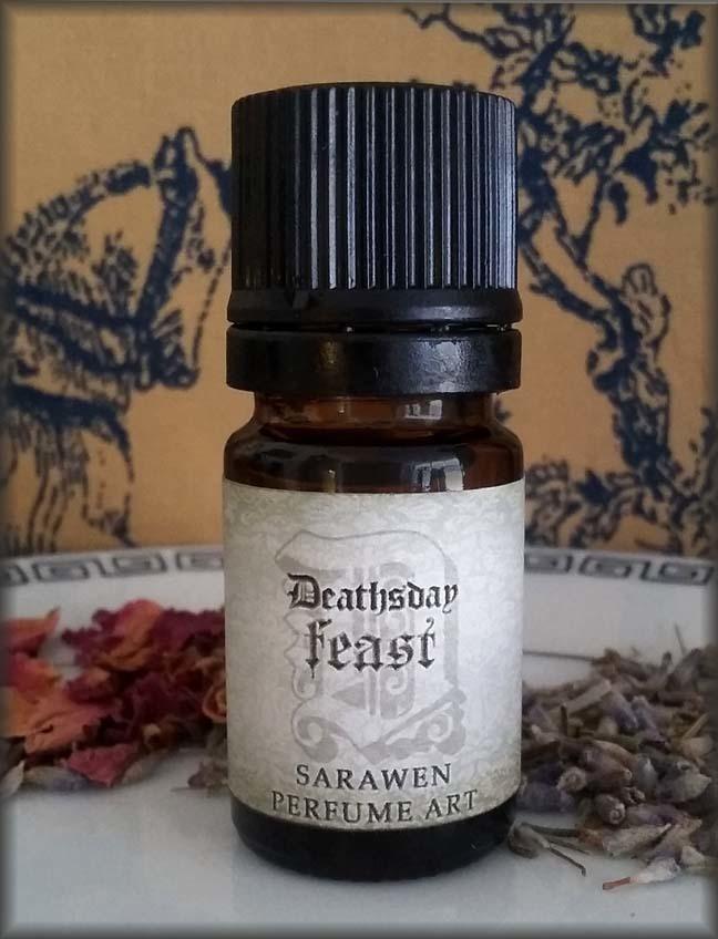 Spice Pumpkin Scent I DEATHSDAY FEAST Sweet Perfume Oil