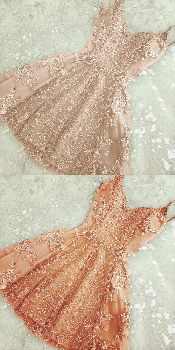 Cocktail Dresses,Little Lace Homecoming Dresses,Vintage Style Prom Party