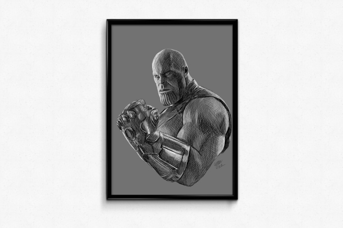 PRINTS - Thanos (Marvel)